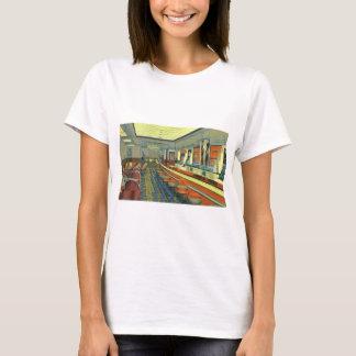 Vintage Restaurant, Retro Roadside Diner Interior T-Shirt