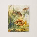 Vintage Restored Fish Jigsaw Puzzle