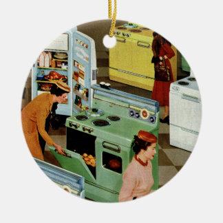 Vintage Retail Business Appliance Showroom Shop Christmas Ornaments