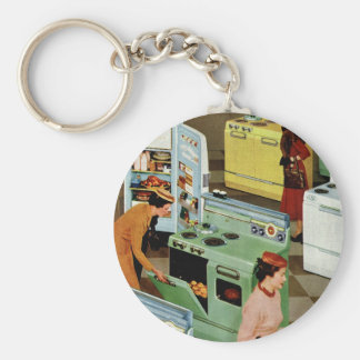 Vintage Retail Business, Appliance Showroom Store Keychain