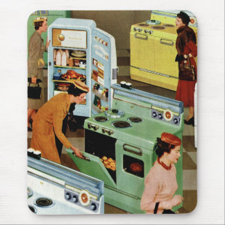 Vintage Retail Business, Appliance Showroom Store Mouse Pad
