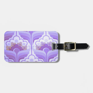 Vintage Retro 1960s Lilac.png Tags For Luggage