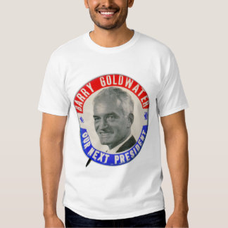 Vintage Retro 1964 Goldwater For President Button Shirt