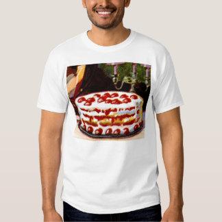 Vintage Retro 20s Baking Cookbook Art Shortcake T-shirts