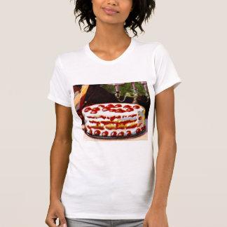 Vintage Retro 20s Baking Cookbook Art Shortcake Tshirts