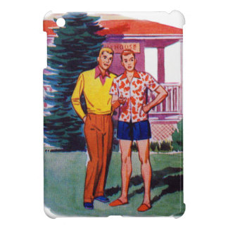Vintage Retro 50s Gay Men Bob and Rob iPad Mini Cases