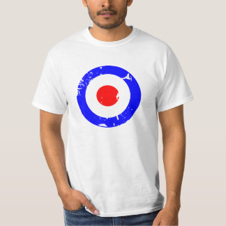 Vintage Retro Aged Mod Target T Shirt