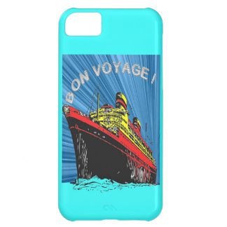 Vintage / Retro Art Deco Travel Design Product Cover For iPhone 5C