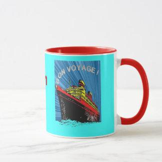 Vintage / Retro Art Deco Travel Design Product Mug