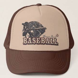 Vintage Retro Baseball Gear by Mudge Studios Trucker Hat