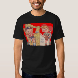 Vintage Retro Baseball Valentine Card Tee Shirt