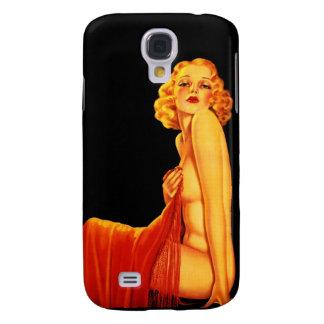 Vintage Retro Billy DeVorss Glamor Pinup girl Galaxy S4 Cases