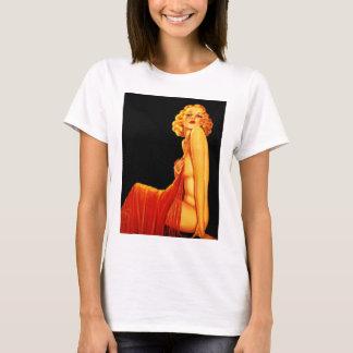 Vintage Retro Billy DeVorss Glamor Pinup girl T-Shirt