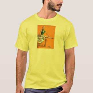 Vintage Retro Billy DeVorss Pinup Girl T-Shirt