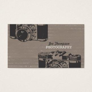 Vintage Retro Camera Professional Photographer Business Card