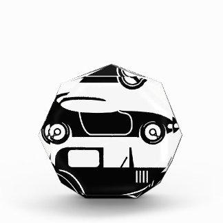 Vintage retro car racing coupe and limo award