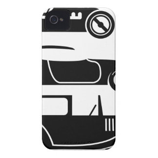 Vintage retro car racing coupe and limo Case-Mate iPhone 4 case