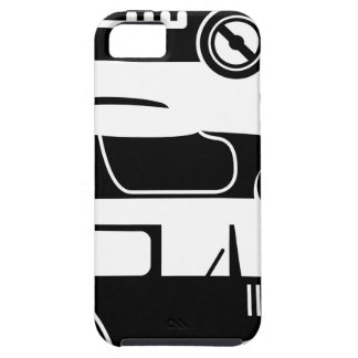 Vintage retro car racing coupe and limo iPhone SE/5/5s case