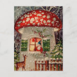 "Vintage Retro Christmas Postcard<br><div class=""desc"">This Christmas send your warm wishes to friends and family with this vintage postcard!</div>"