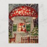 "Vintage Retro Christmas Postcard<br><div class=""desc"">This Christmas send your warmth to friends and family with this vintage postcard!</div>"