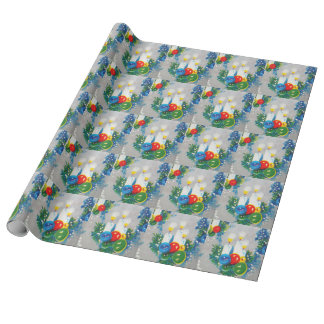 Vintage, Retro Chritmas Wrapping Paper