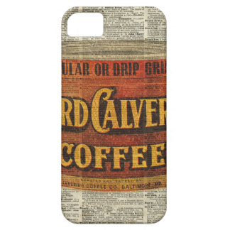 Vintage Retro Coffee Can On Old Encyclopedia Page iPhone SE/5/5s Case