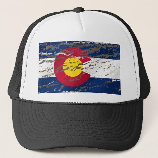 Vintage Retro Colorado State flag Trucker Hat