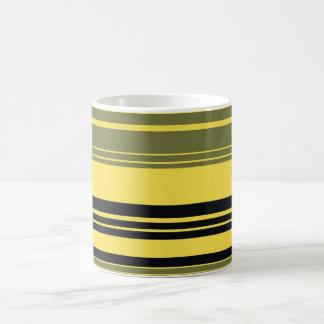 Vintage Retro Colorful Stripes Art #3 Coffee Mug