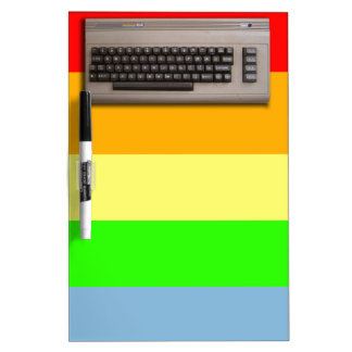 Vintage Retro Computer Keyboard ? Dry-Erase Whiteboards