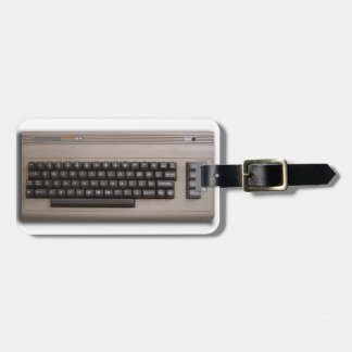 Vintage Retro Computer Keyboard ? Tags For Luggage