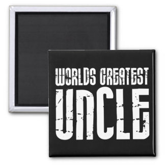 Vintage Retro Cool Uncles World s Greatest Uncle Magnet