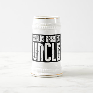 Vintage Retro Cool Uncles : World's Greatest Uncle 18 Oz Beer Stein