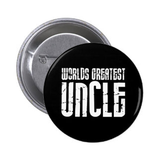Vintage Retro Cool Uncles : World's Greatest Uncle Button