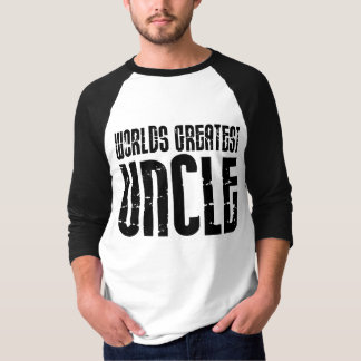 Vintage Retro Cool Uncles : World's Greatest Uncle T-Shirt
