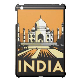 vintage retro del viaje del art déco del Taj Mahal