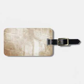 Vintage retro dreamy brown distressed amazing lamp tag for luggage