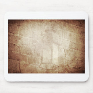 Vintage retro dreamy brown distressed amazing lamp mouse pad