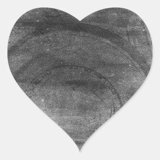 Vintage retro dreamy grey distressed photo camera heart sticker