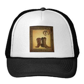 vintage retro fashion western country trucker hat