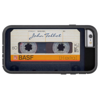 Vintage Retro Fashioned 80s Mixtape Audio Cassette Tough Xtreme iPhone 6 Case