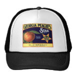 Vintage, Retro Fruit and Vegetable Crate Labels Trucker Hat