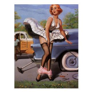 Vintage Retro Gil Elvgren Pin Up Girl Cards