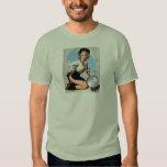 Vintage Retro Gil Elvgren Pin Up Girl T-shirts