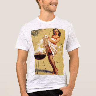 Vintage, Retro Gil Elvgren Pin Up GIrl Tees