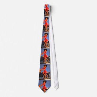 Vintage Retro Gil Elvgren Pin Up Girl Tie