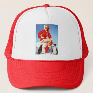 Vintage Retro Gil Elvgren Pin Up Girl Trucker Hat