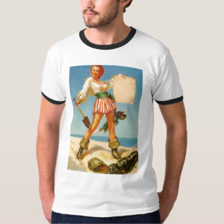 Vintage Retro Gil Elvgren Pin Up Girls Tees