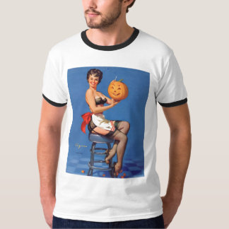 Vintage, Retro Gil Elvgren Pin Up Girls Tees