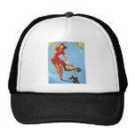 Vintage Retro Gil Elvgren Pin Up GIrls Tees Mesh Hat