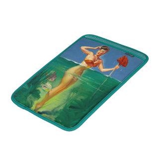 Vintage Retro Gil Elvgren Scuba Diver Pin Up Girl MacBook Air Sleeve